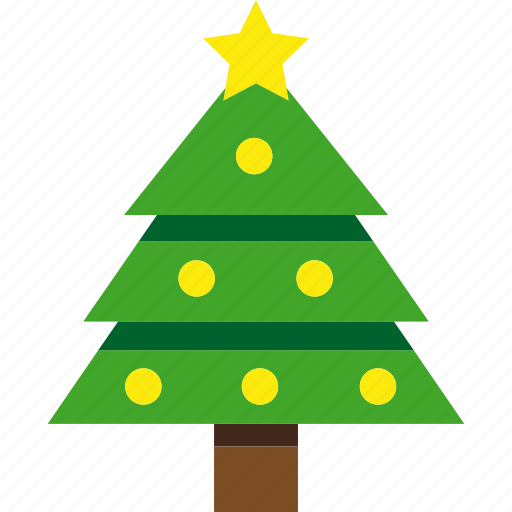 christmas, holiday, pine, tree, xmas icon
