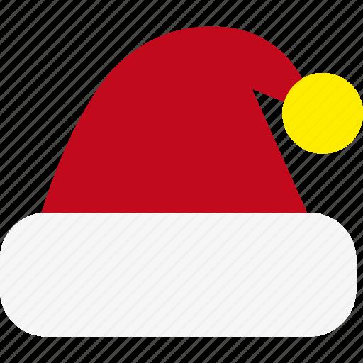 christmas, hat, holiday, santa, xmas icon