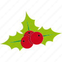 celebration, christmas, holiday, mistletoe, xmas icon