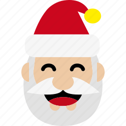 christmas, father christmas, kris kringle, saint nicholas, santa, santa claus, xmas icon