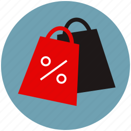 bags, chip, discount, liquidation, sale, shop, shopping icon