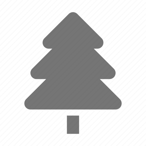 christmas, holiday, nature, tree icon