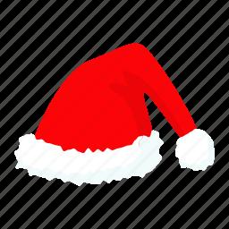cap, christmas, claus, hat, santa, xmas icon