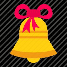 bell, celebration, christmas, decoration, xmas icon