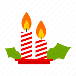birthday, candle, celebration, christmas, light icon