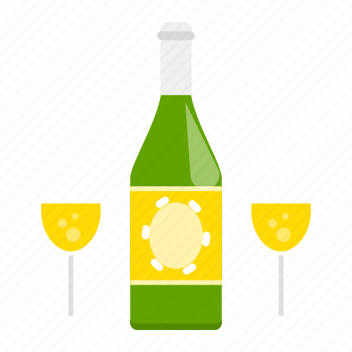 alcohol, beer, beverage, bottle, champagne, glass, wine icon