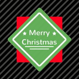 badges, christmas, decoration, lable, ribbon, tree, xmas icon