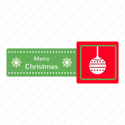badges, bells, christmas, decoration, ribbon, snow, xmas icon
