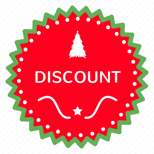 advertising, branding, christmas, discount, exclusive, marketing icon