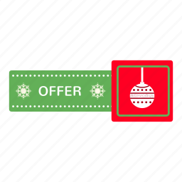 advertising, branding, christmas, marketing, new, offer icon