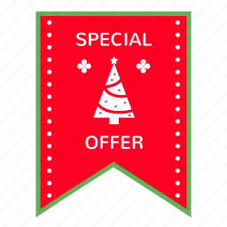 advertising, branding, christmas, discount, marketing, offer, special icon