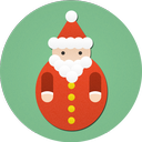 christmas, santa, santa claus icon
