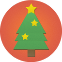 tree, christmas icon