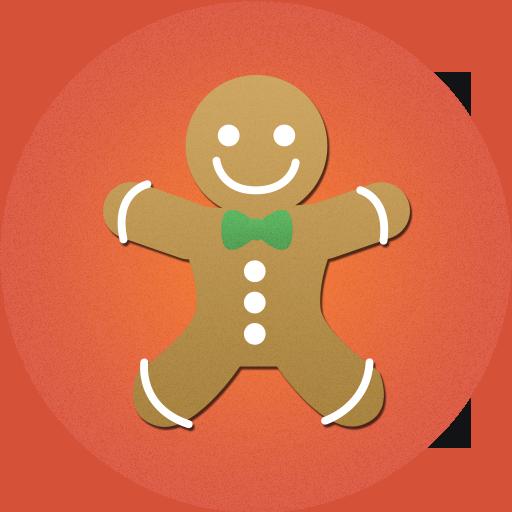 cake, christmas, cookies, food icon