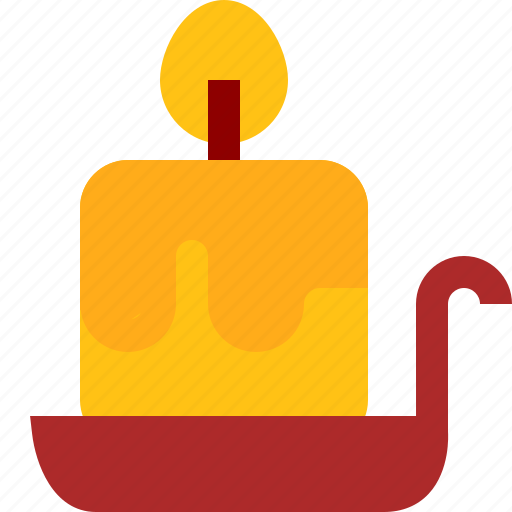 candle, decoration icon