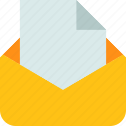 communication, email, envelope, letter, mail, message, post, send icon