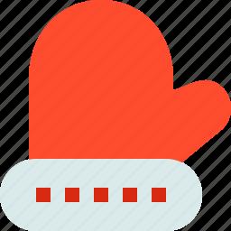 cold, glove, mitten, mittens, winter icon