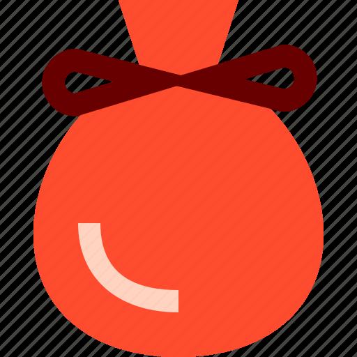 bag, santa icon