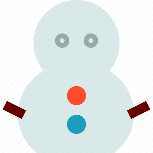 man, snow, snowman icon