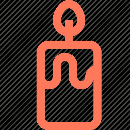 candle, celebration, decoration icon