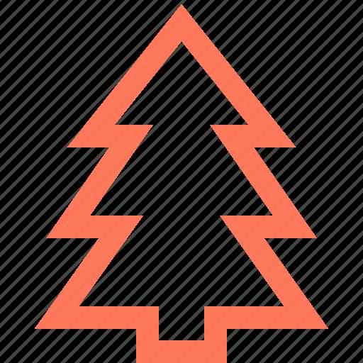 christmas, nature, tree, xmas icon