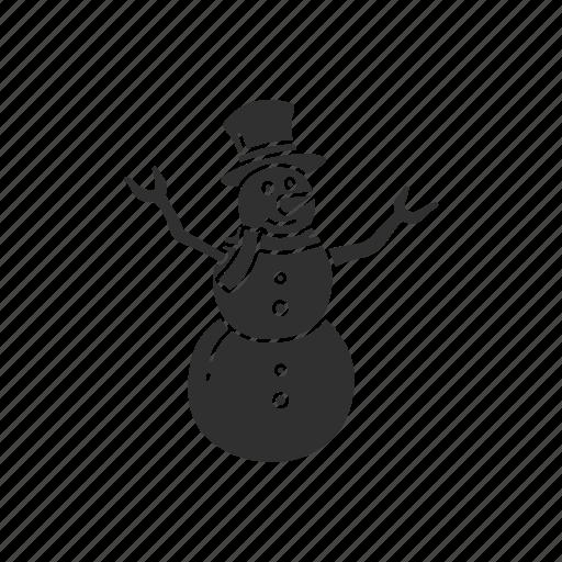 frosty the snowman, snow, snow man, winter icon