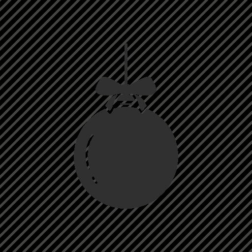 ball, christmas ball, decoration, ornament icon