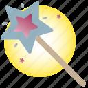 angel, christmas, gift, star, wand, wish
