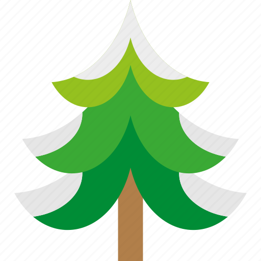 christmas, forest, snow, tree, winter, xmas icon
