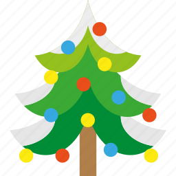 christmas, forest, snow, tree, winter, xmas icon