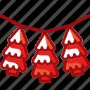 christmas, christmas tree, decoration, garland