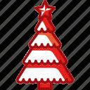 celebration, christmas, decoration, plant, tree, winter icon