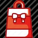 bag, christmas, gift, sale, shopping