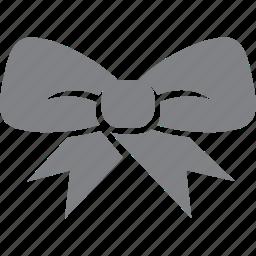 bow, christmas, decoration, holiday, ribbon, tie, xmas icon