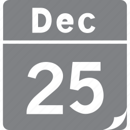 calendar, christmas, day, event, holiday, time, xmas icon