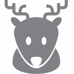 christmas, decoration, deer, holiday, reindeer, winter, xmas icon