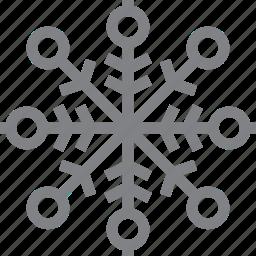 christmas, decoration, flake, snow, snowflake, winter, xmas icon