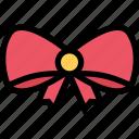 bow, christmas, gift, tie, xmas