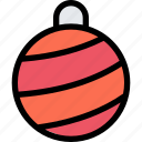 ball, christmas, gift, xmas icon