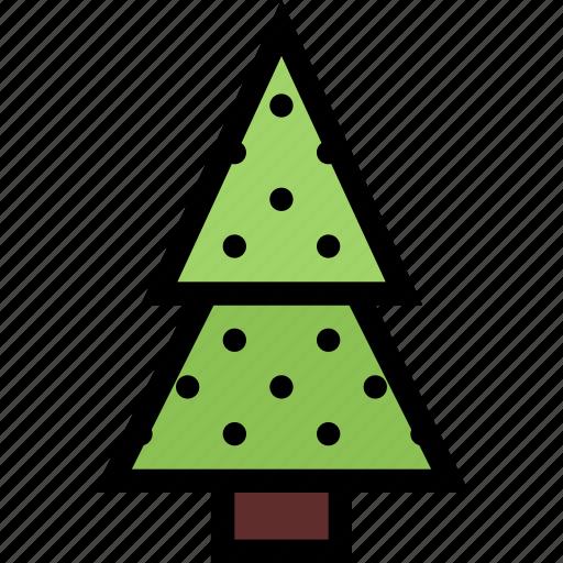 decoration, fir, plant, tree, xmas icon