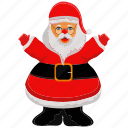 christmas, claus, holyday, santa, santa claus icon