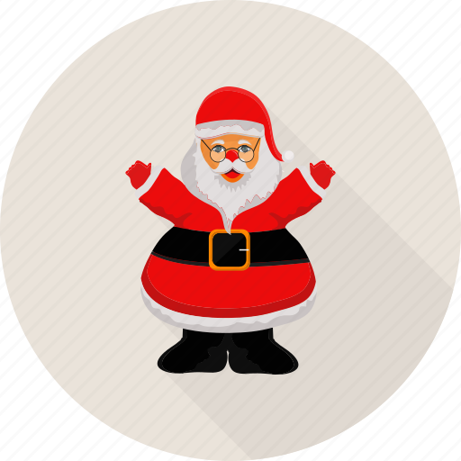 christmas, claus, holyday, santa, santa claus icon