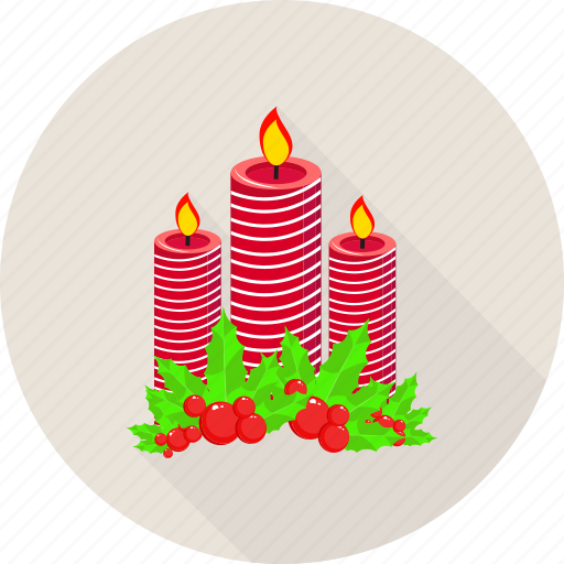 Candle, christmas, decoration, dinner icon - Download on Iconfinder