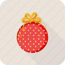 bauble, christmas, holiday, ornament icon