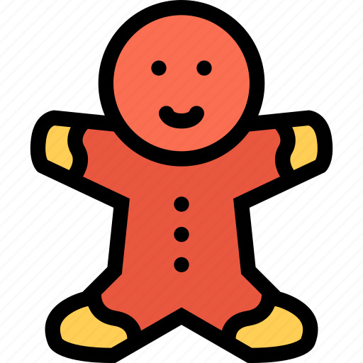 Bear, gift, gingerbread, man icon - Download on Iconfinder
