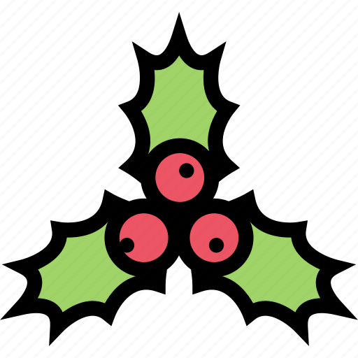 Celebration, christmas, decoration, holly, new year, xmas icon - Download on Iconfinder