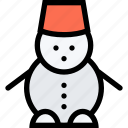 christmas, decoration, snow, snowflake, snowman, winter, xmas