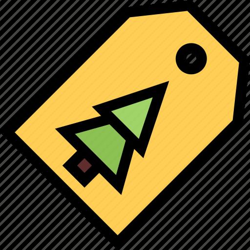 label, price, tag, xmas icon