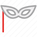 carnival, carnival mask, mask, performance mask icon