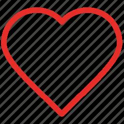 heart, heart shape, like, love icon